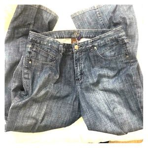 JAG 16 Denim Jeans wider leg plus curvy